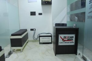 Interior of ProCare Dental Clinic